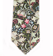 William Morris Golden Lily Black Tie