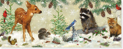 Winter Forest Friends Holiday Cards Boxed Set
