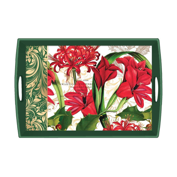 Christmas Time Large Decoupage Tray