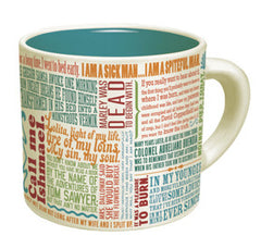 Greatest First Lines of Literature Mug