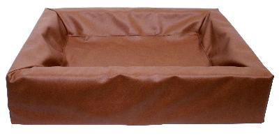 BIA BED HONDENMAND BRUIN 7 120X100X15CM