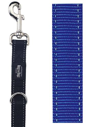 ROGZ FOR DOGS LUMBERJACK MULTIPURPOSE LIJN BLAUW 25 MMX1,6 MTR