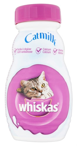 WHISKAS CATMILK FLESJE 15X200 ML