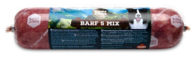 RAW4DOGS WORST BARF 5 MIX 450 GR (12 stuks)