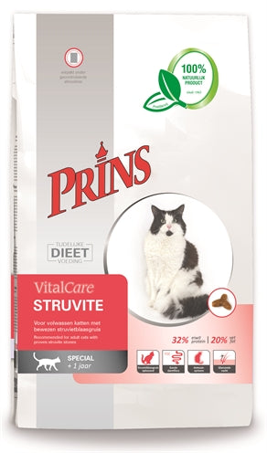 PRINS CAT VITAL CARE STRUVITE 5 KG