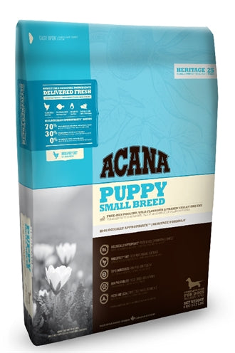 ACANA HERITAGE PUPPY SMALL BREED 340 GR