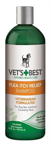 VETS BEST FLEA ITCH RELIEF SHAMPOO 470 ML