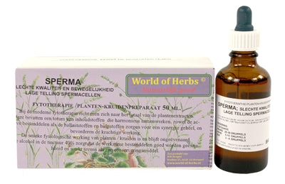 WORLD OF HERBS FYTOTHERAPIE SPERMA 50 ML