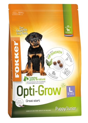 FOKKER OPTI-GROW PUPPY / JUNIOR LARGE 13 KG