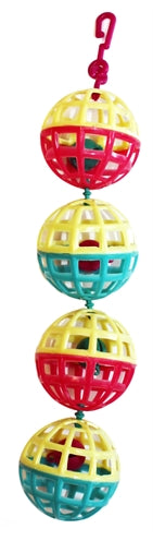 HAPPY PET FUN AT THE FAIR MULTI BALL TOY 20X4X4 CM