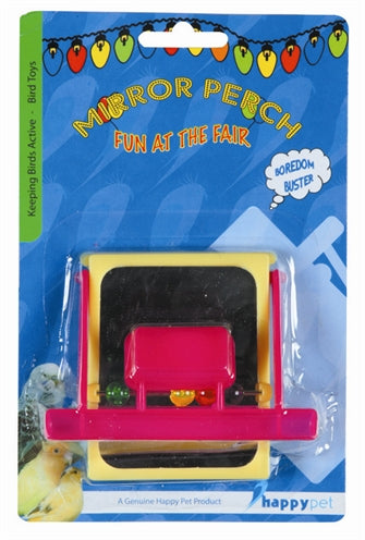 HAPPY PET FUN AT THE FAIR MIRROR PERCH 9X10X2,5 CM