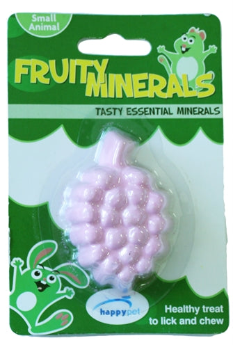 HAPPY PET FRUITY MINERAL GRAPEFRUIT 6,5X4,5X2,5 CM