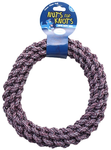 HAPPY PET NUTS FOR KNOTS RING LARGE 27X27X4,5 CM