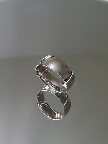 Solid Sterling Silver 8mm Band - www.emmavera.com
