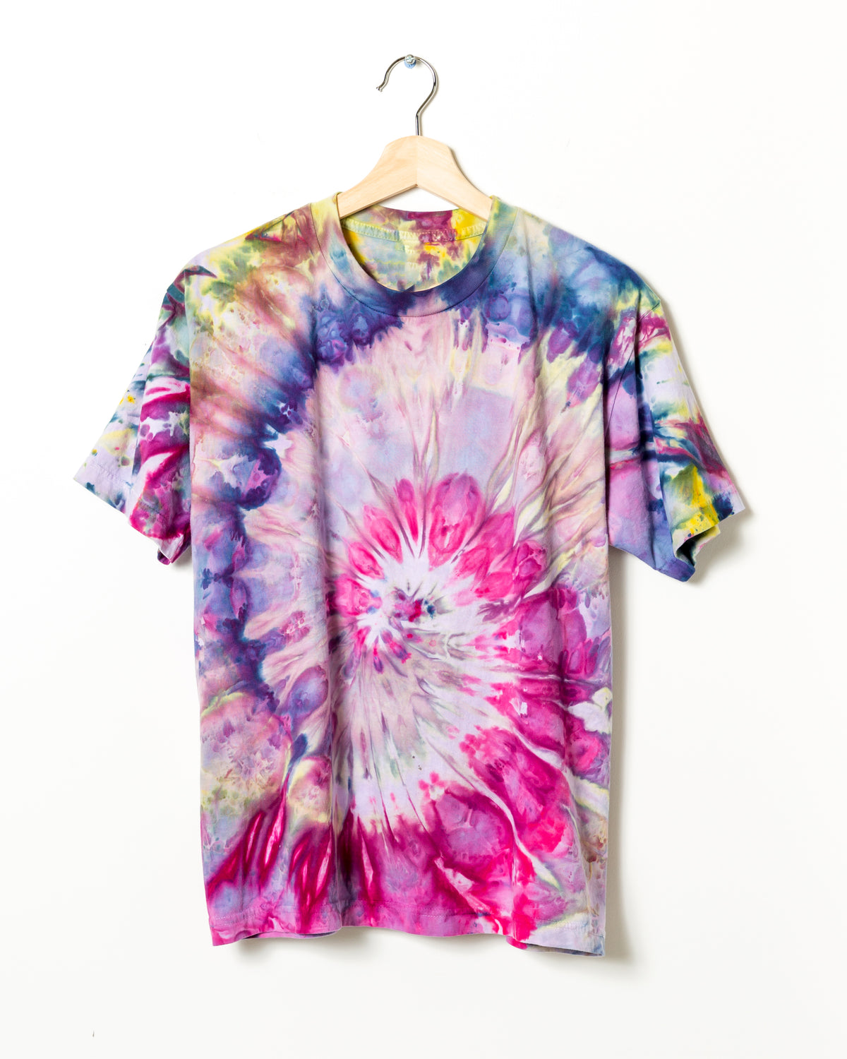 Short Sleeve Tee in Rainbow Swirl - riverside tool & dye