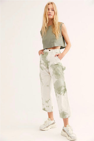 Painter's Pants in Sage