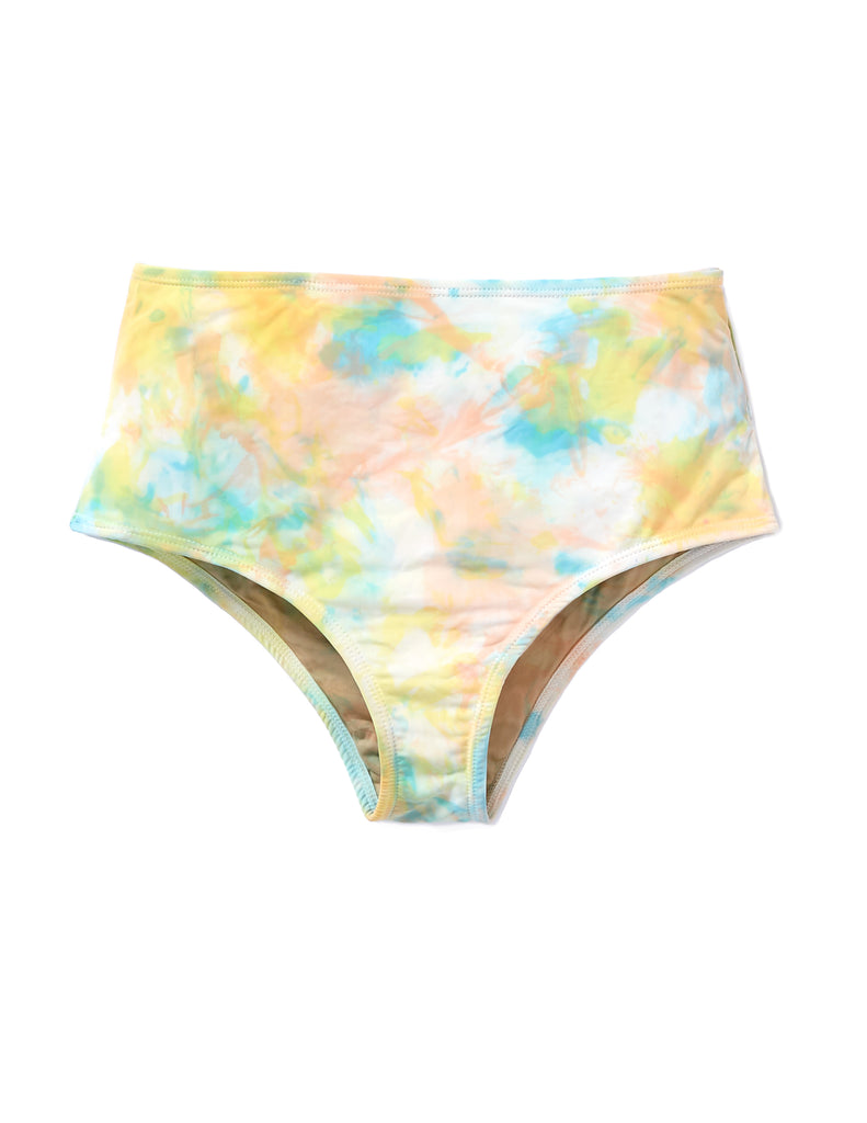 High Waist Bottoms Swimsuit in Sorbet - riverside tool & dye