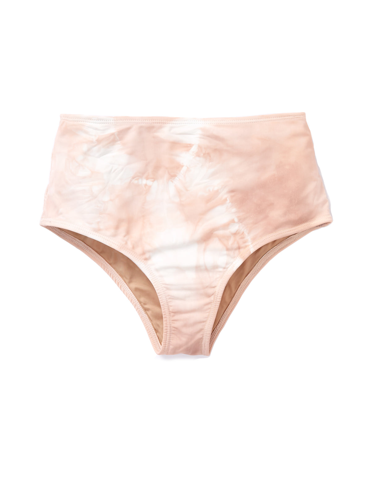High Waist Bottoms Swimsuit in Blush - riverside tool & dye