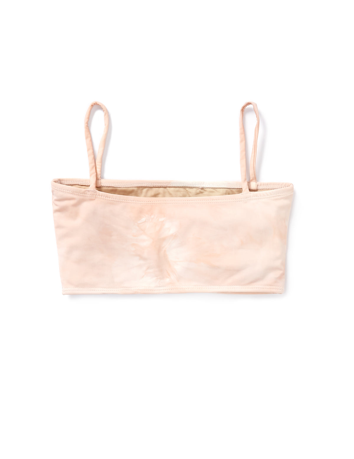 Bandeau Bikini Top Swimsuit in Blush - riverside tool & dye