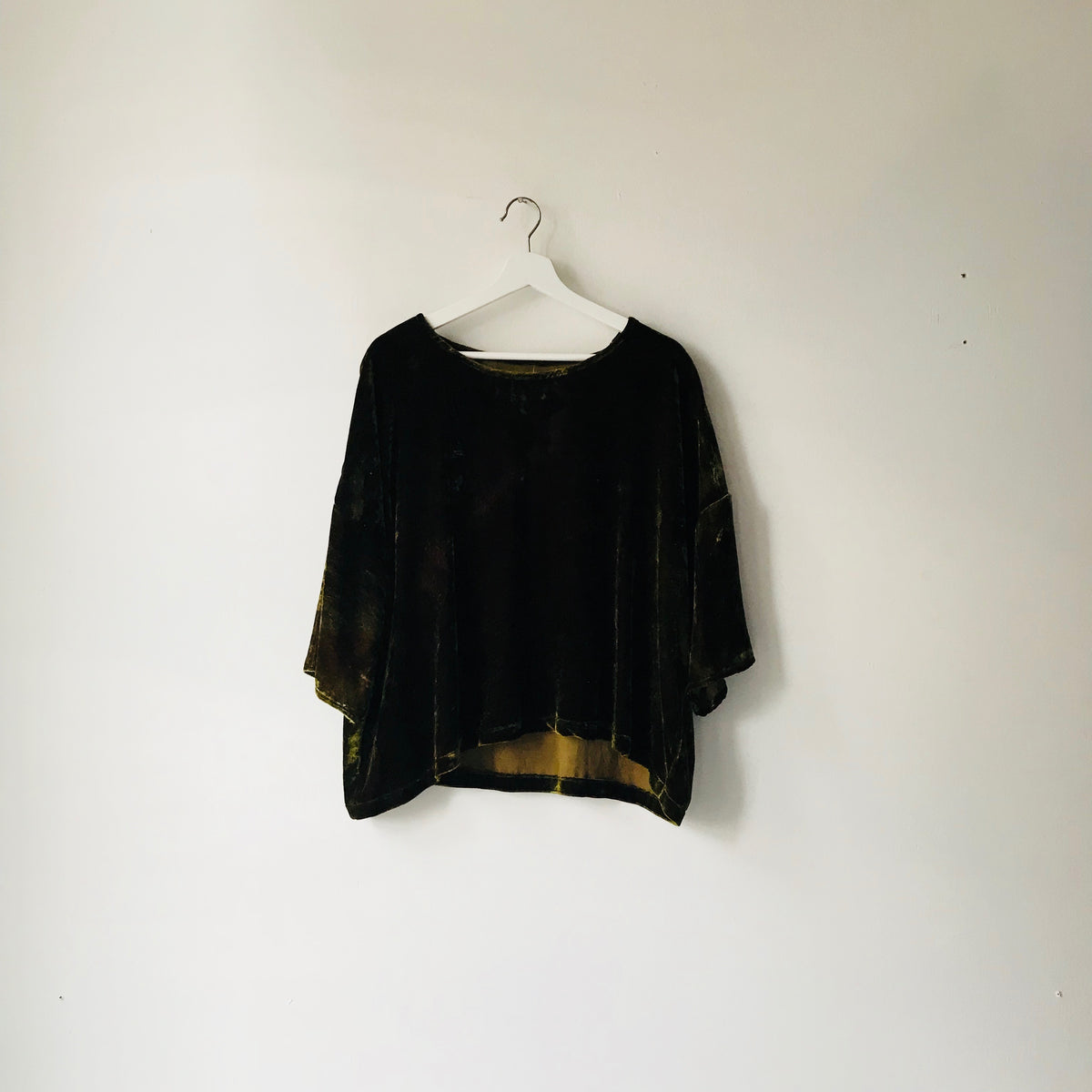 Mia Top in Velvet - riverside tool & dye