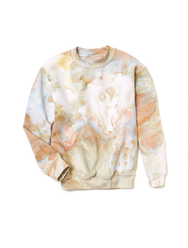 Kids Crewneck in Ivory - riverside tool & dye