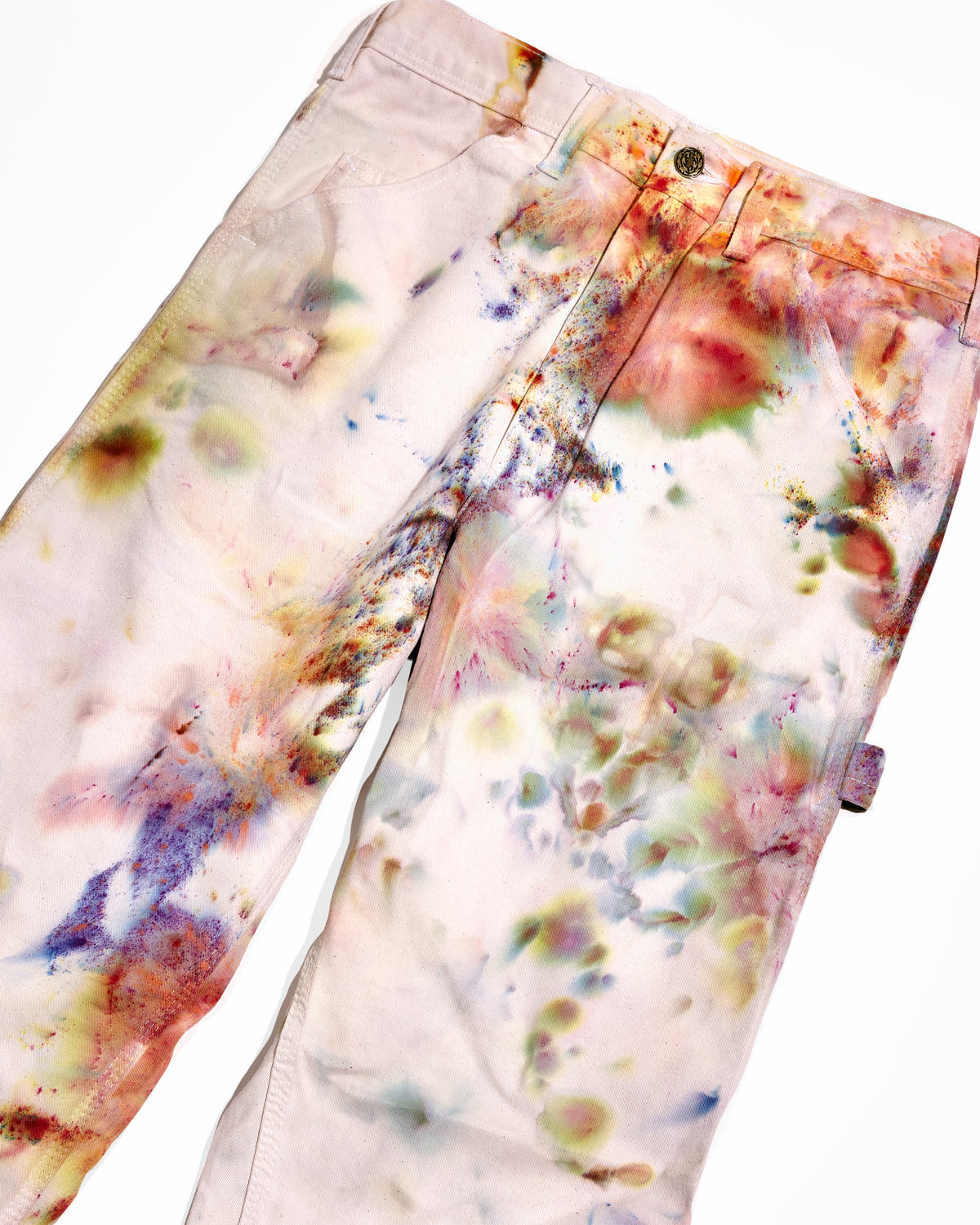 Lavender Composite Painter's Pants