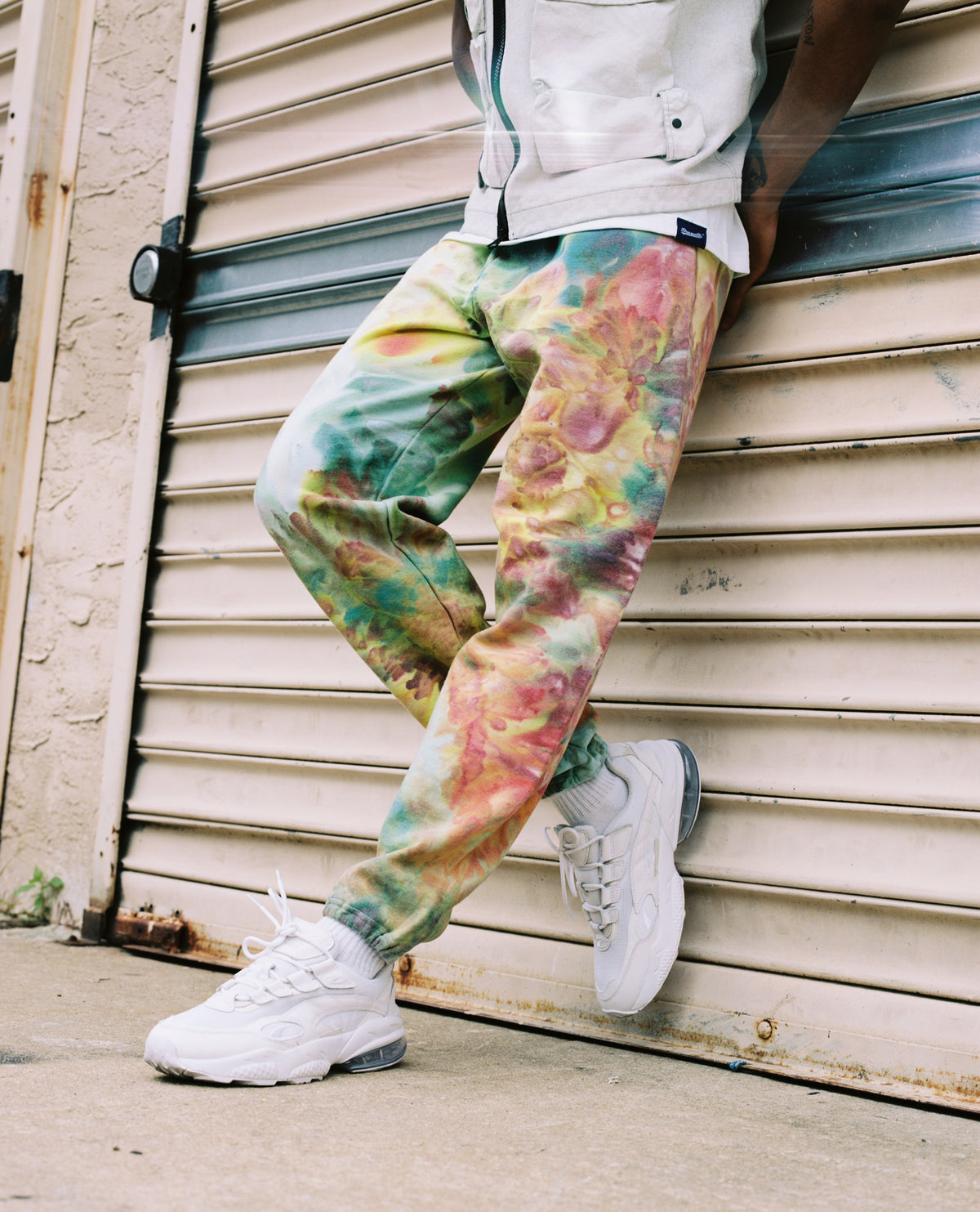 Sweatpants in Marine - riverside tool & dye