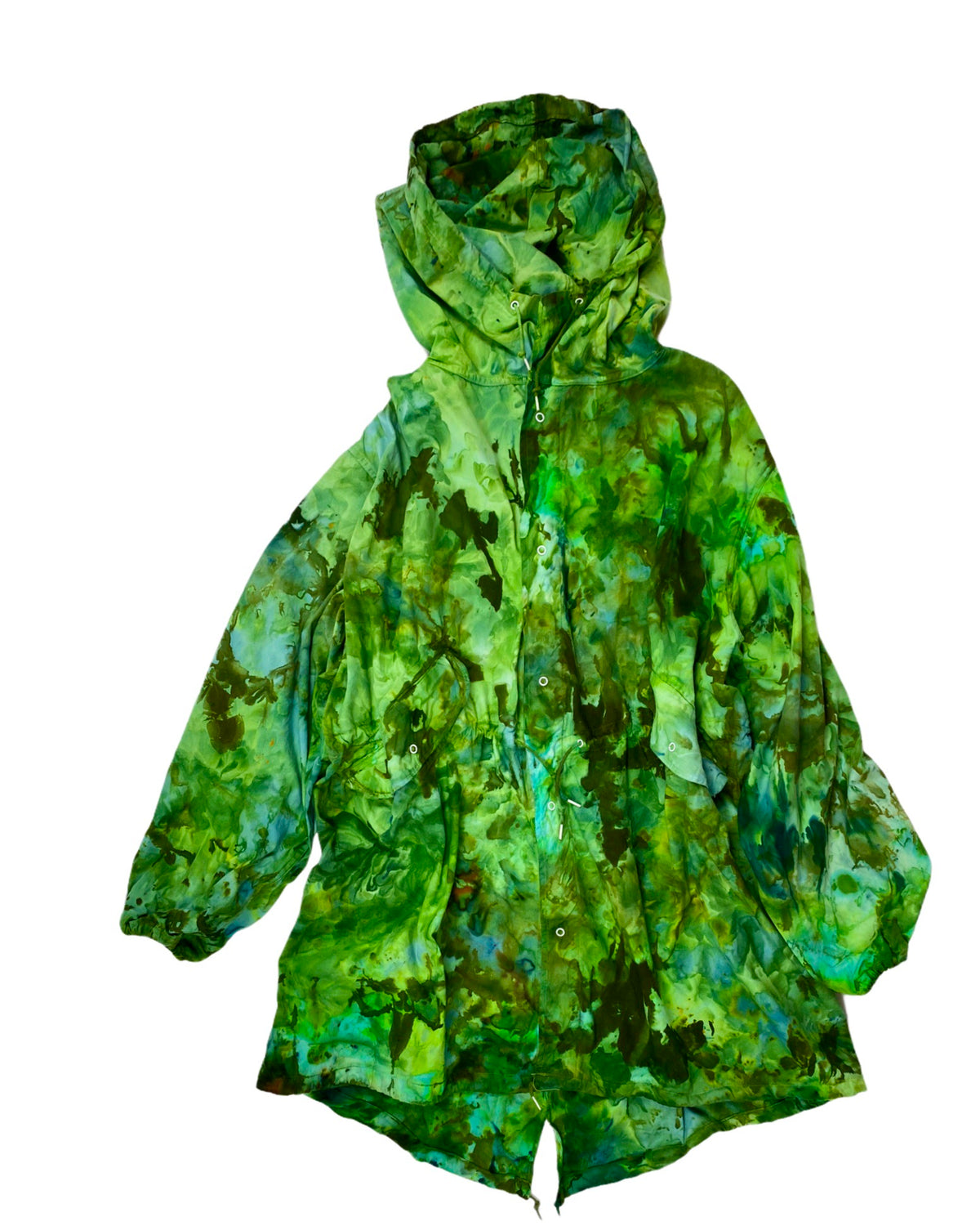 Vintage Fishtail Parka in Green