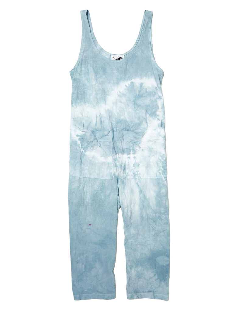 James Jumpsuit in Textured Cotton - riverside tool & dye