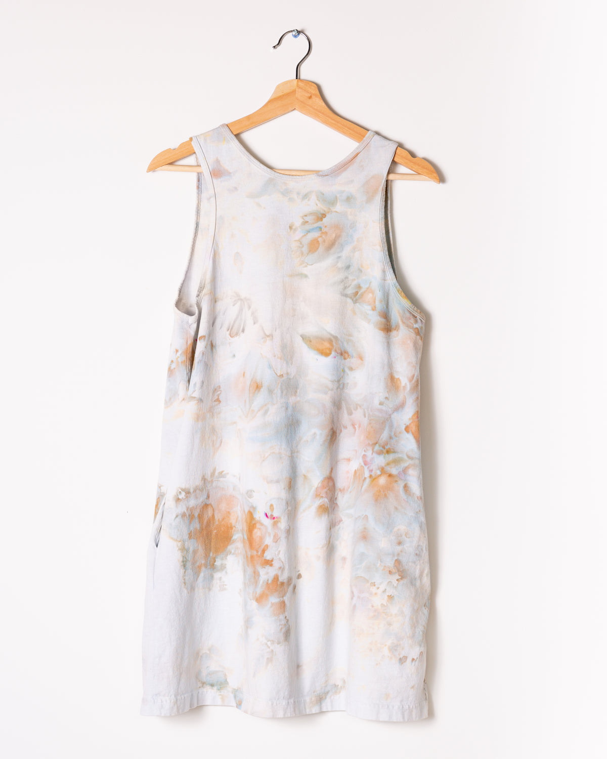 Tank Dress in Ivory - riverside tool & dye