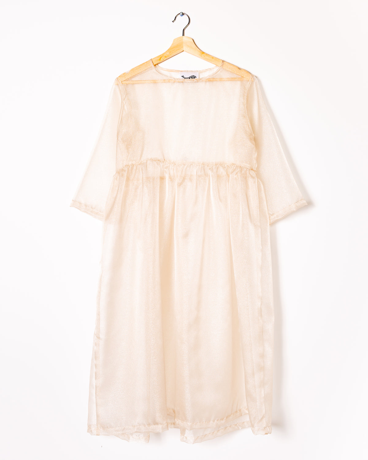 Sheer Dress in Shimmer - riverside tool & dye