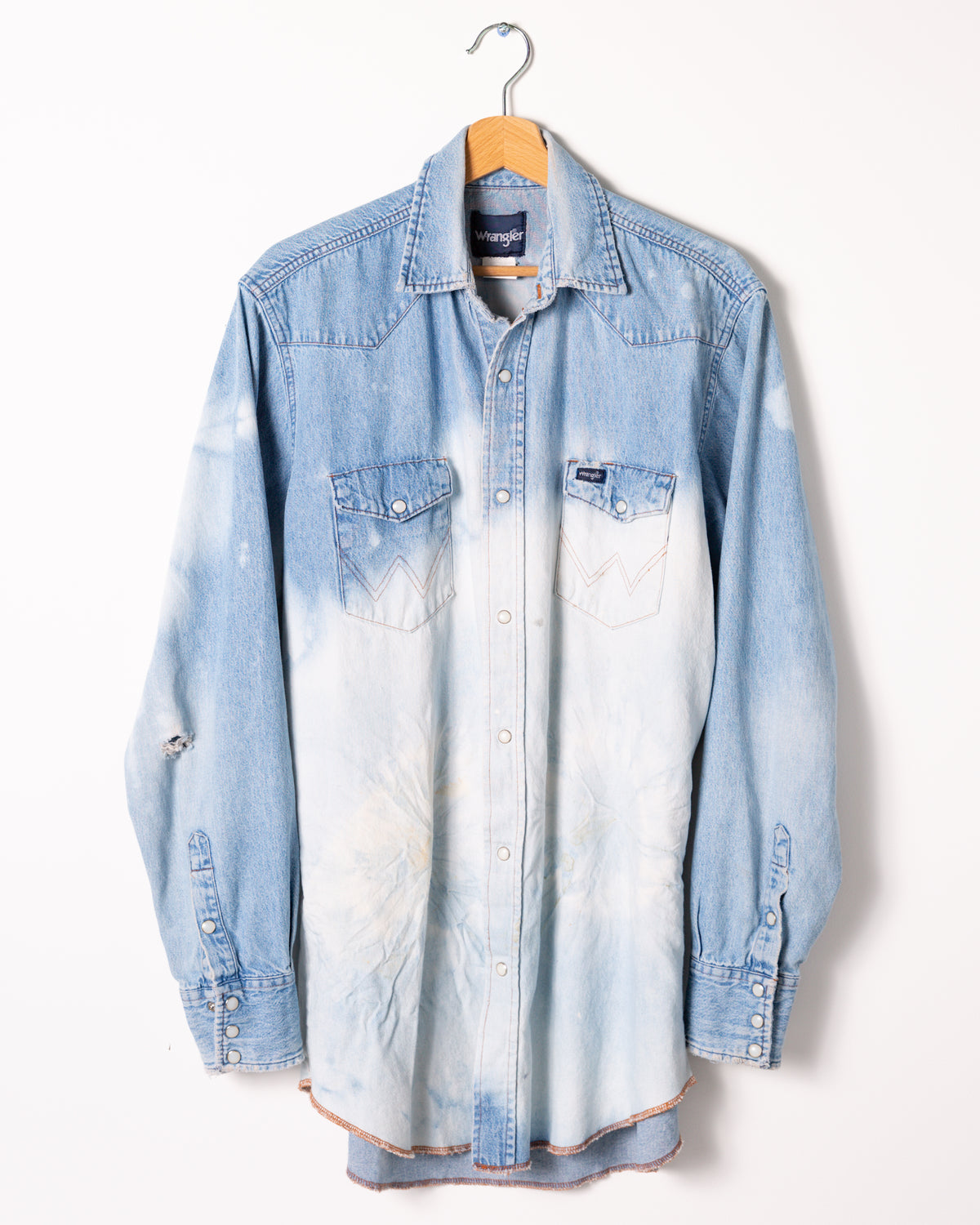 Vintage Denim Shirt - riverside tool & dye