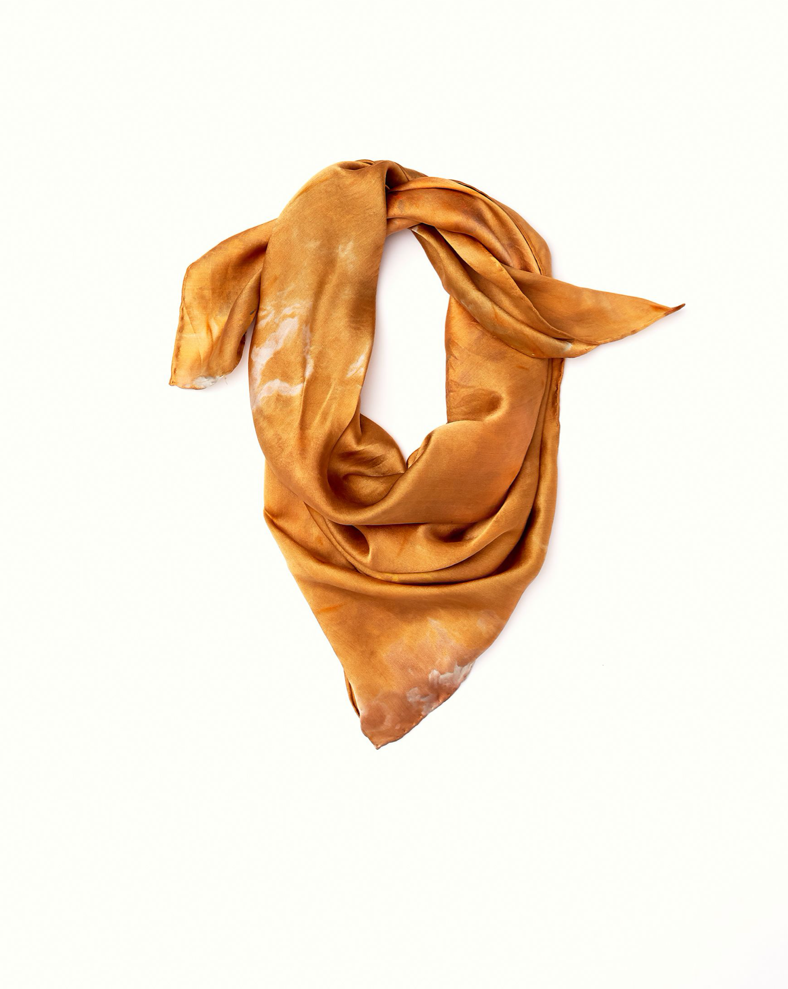 Bandana in Copper Silk - riverside tool & dye
