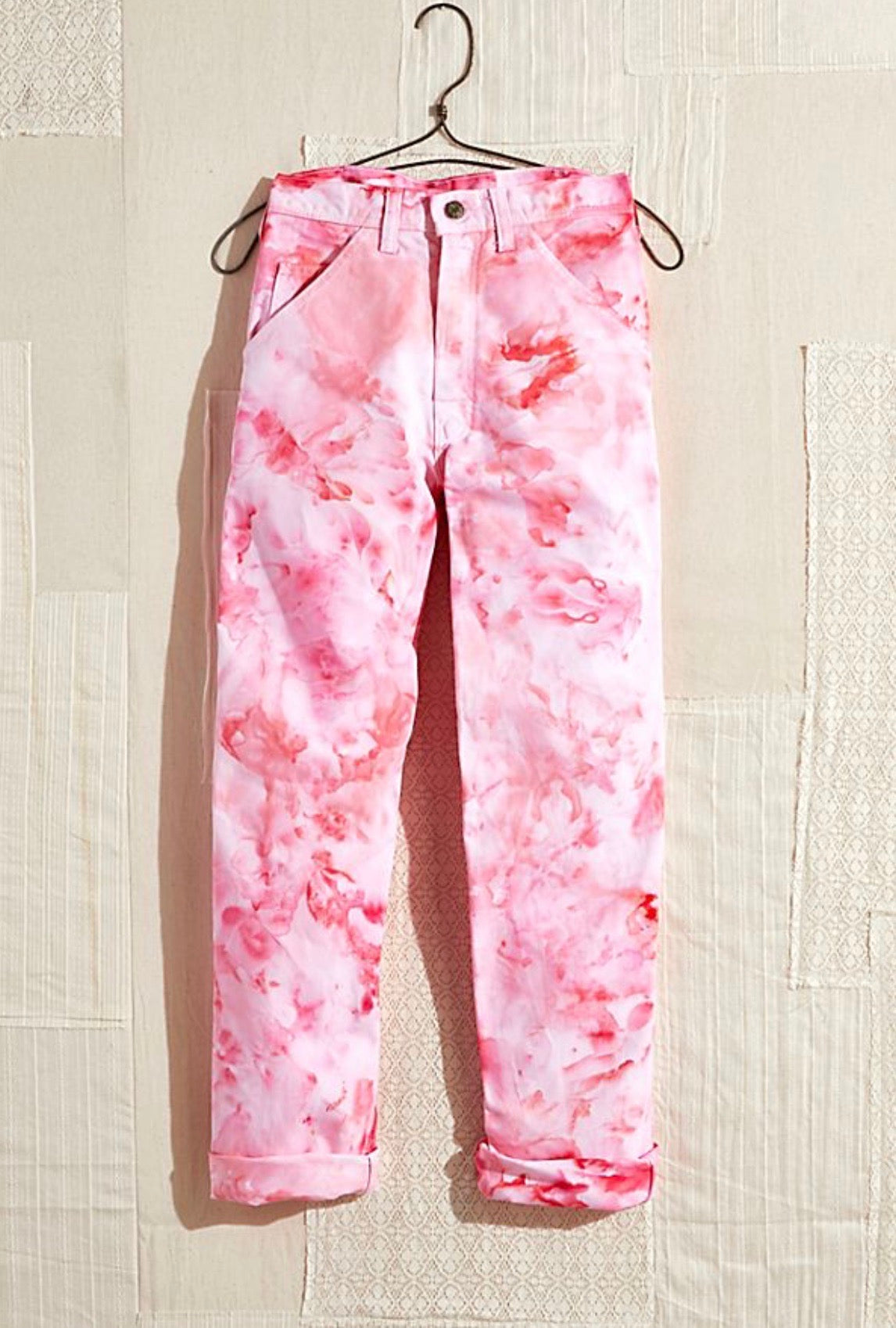 Copy of Painter's Pants in Rose - riverside tool & dye
