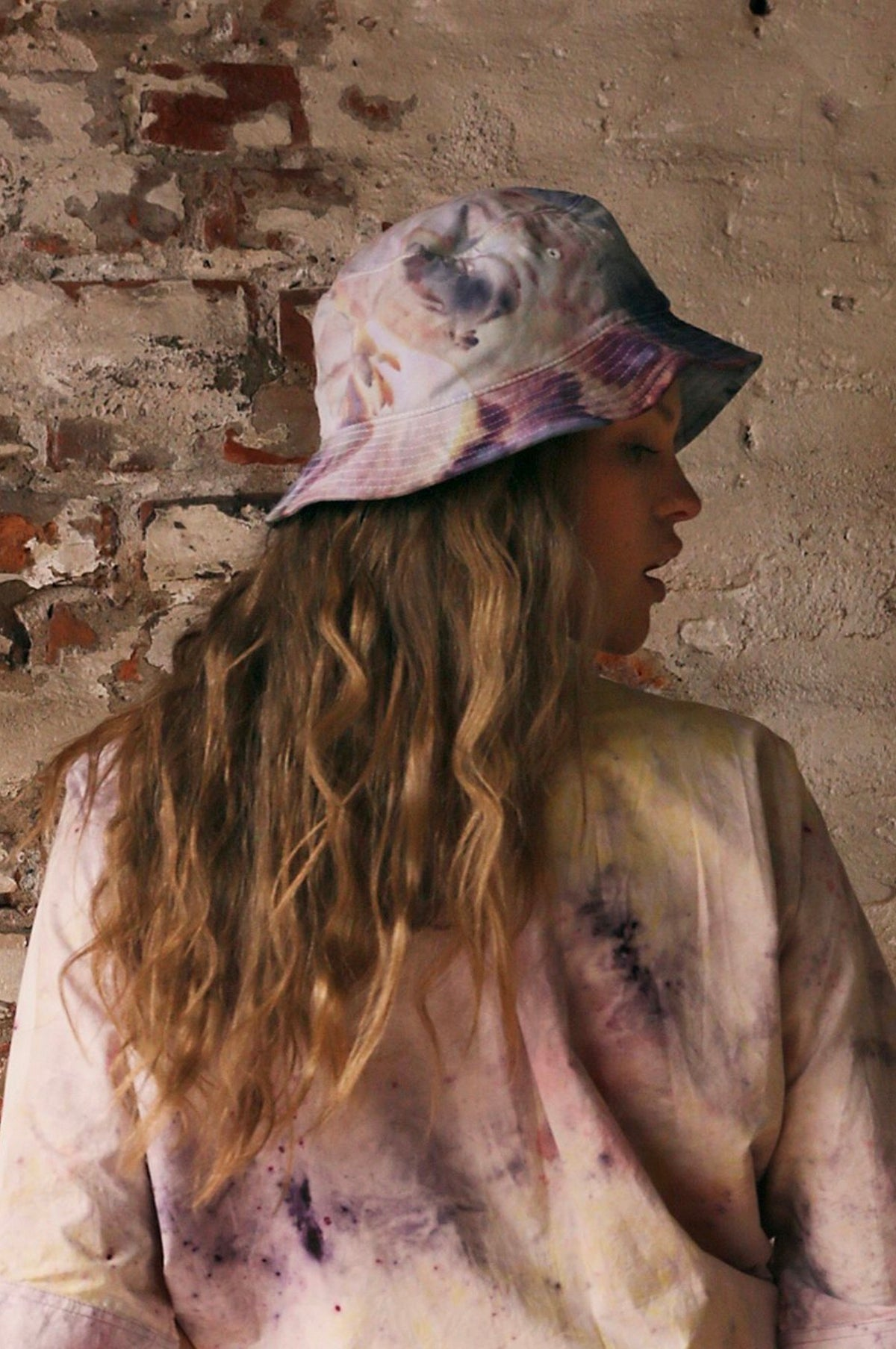 Bucket Hat in Pastel