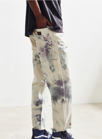 Hand Dyed Painter's Pants in Earth