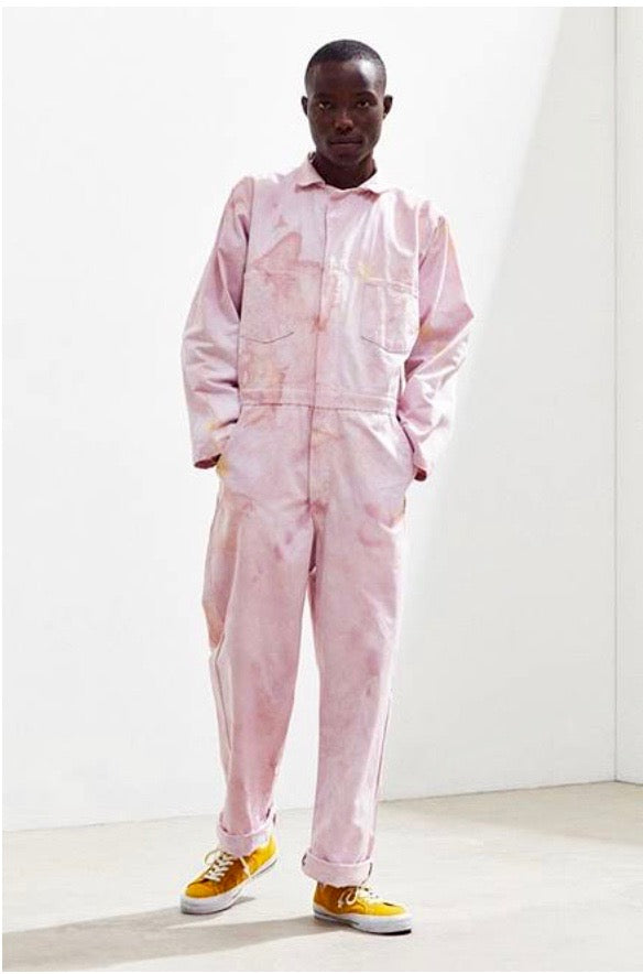 COVERALLS in Georgia Pink