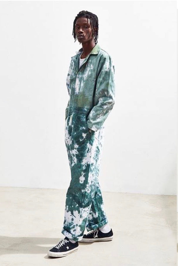 COVERALLS in Moss - riverside tool & dye