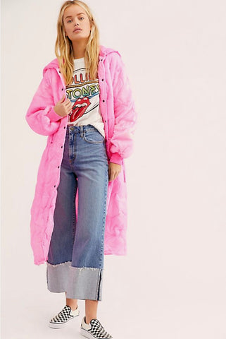 Vintage Puffer in Pink