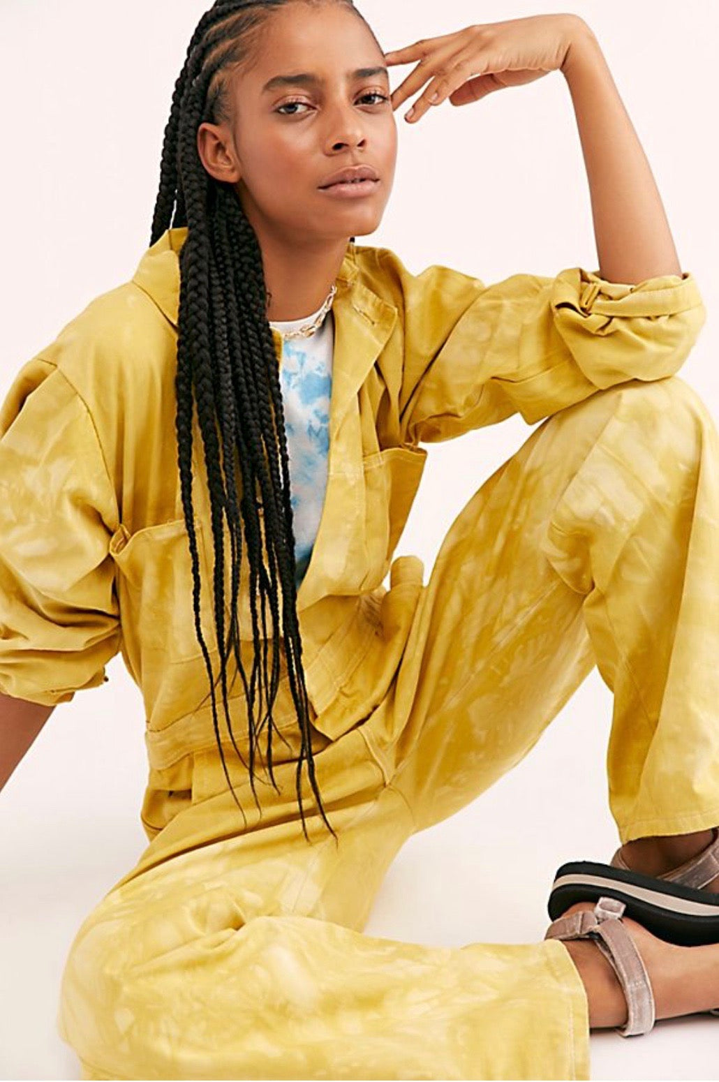 Coveralls in Mustard - riverside tool & dye