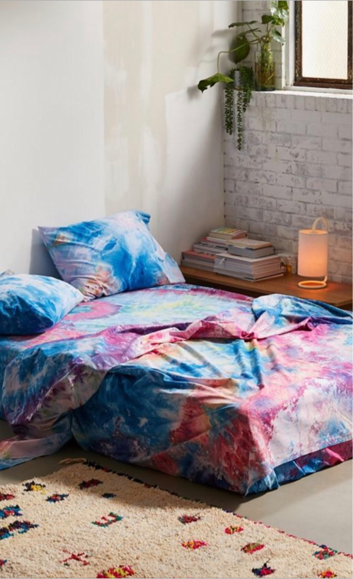 Bedding in Rainbow - riverside tool & dye
