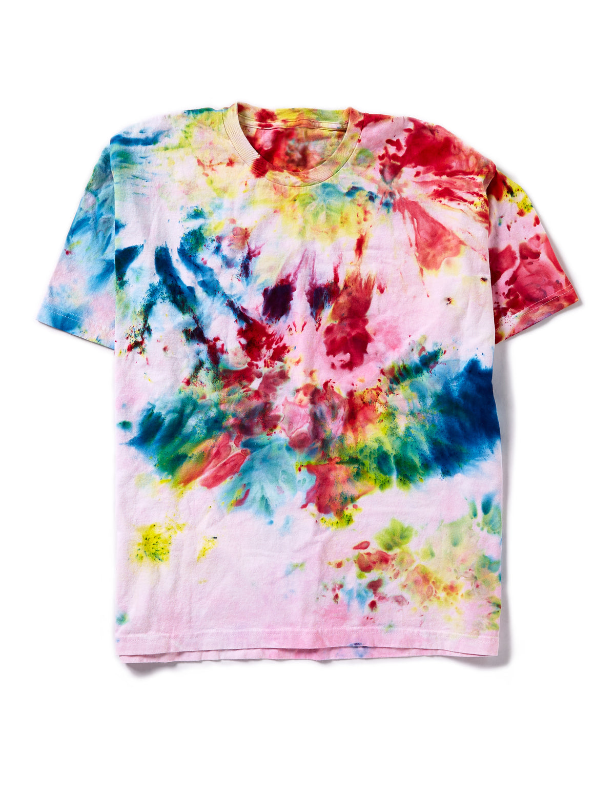 Short Sleeve Box Tee in Rainbow Composite - riverside tool & dye