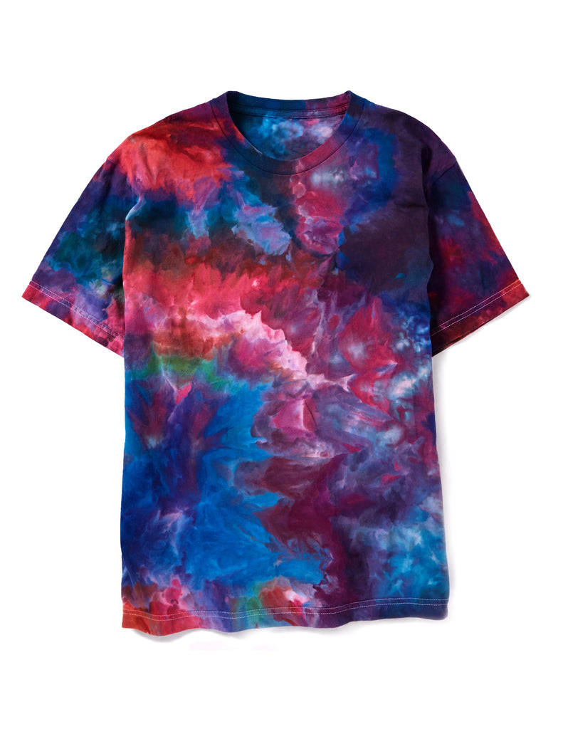 Short Sleeve Box Tee in Rainbow - riverside tool & dye
