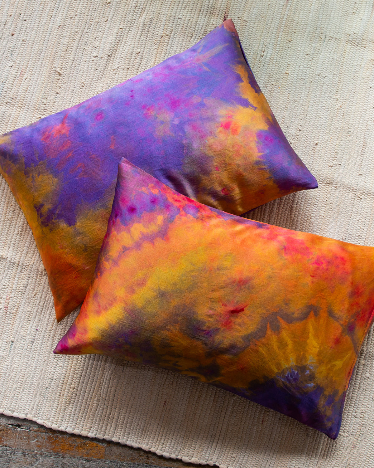 Silk Pillowcase in Disco