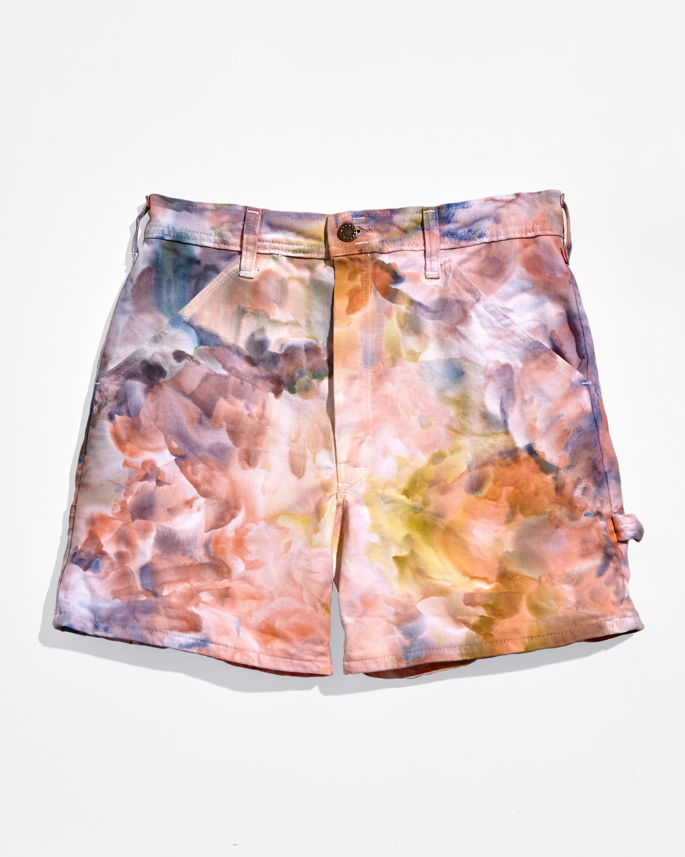 Painter's Shorts in Cotton Candy