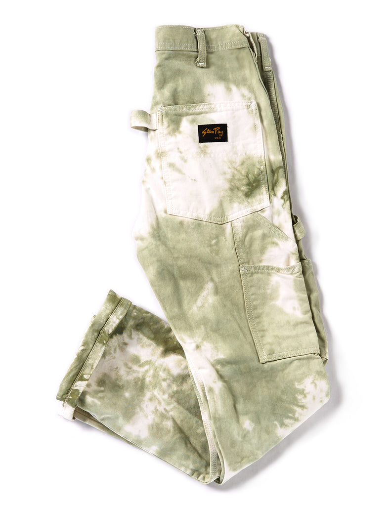 Painter's Pants in Sage - riverside tool & dye