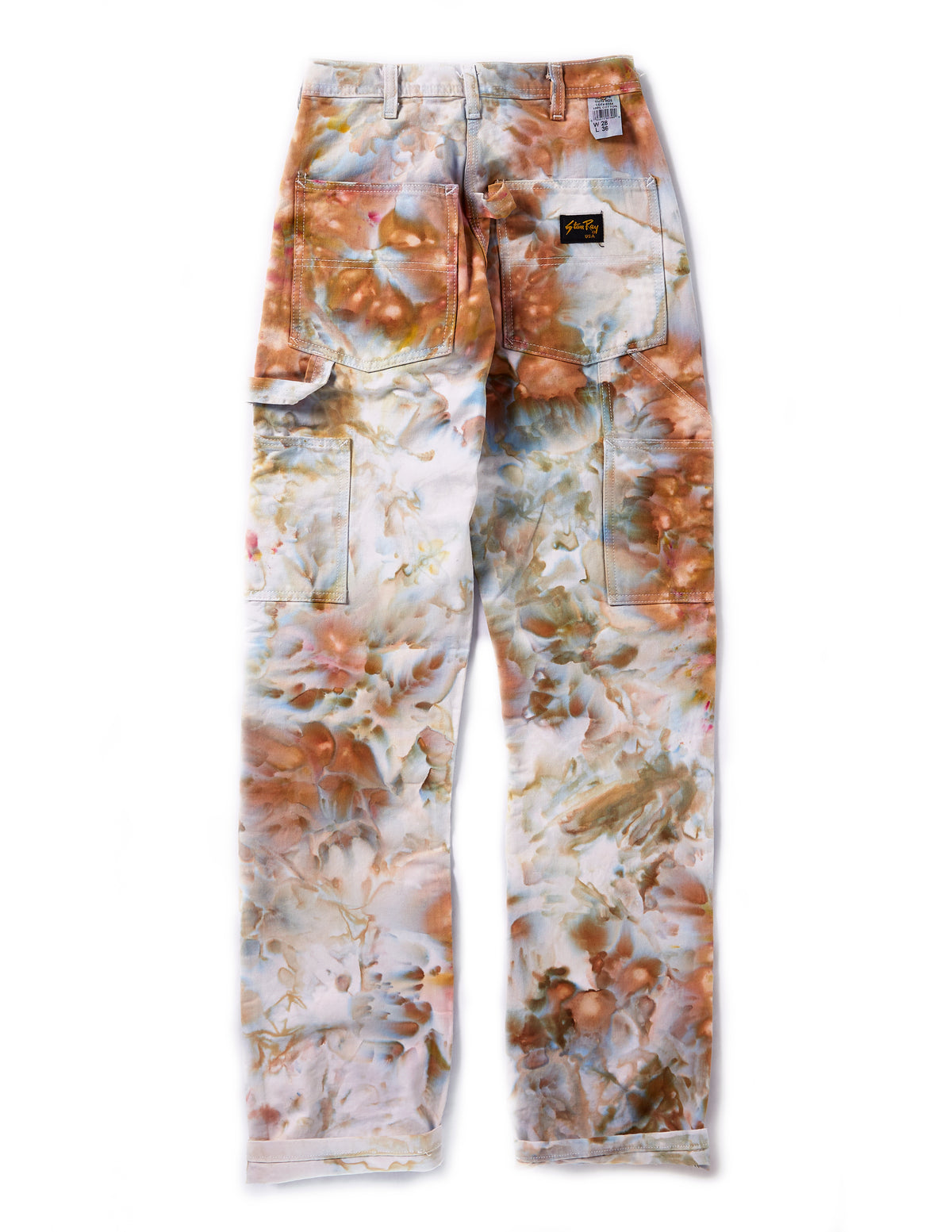 Painter's Pants in Ivory White - riverside tool & dye