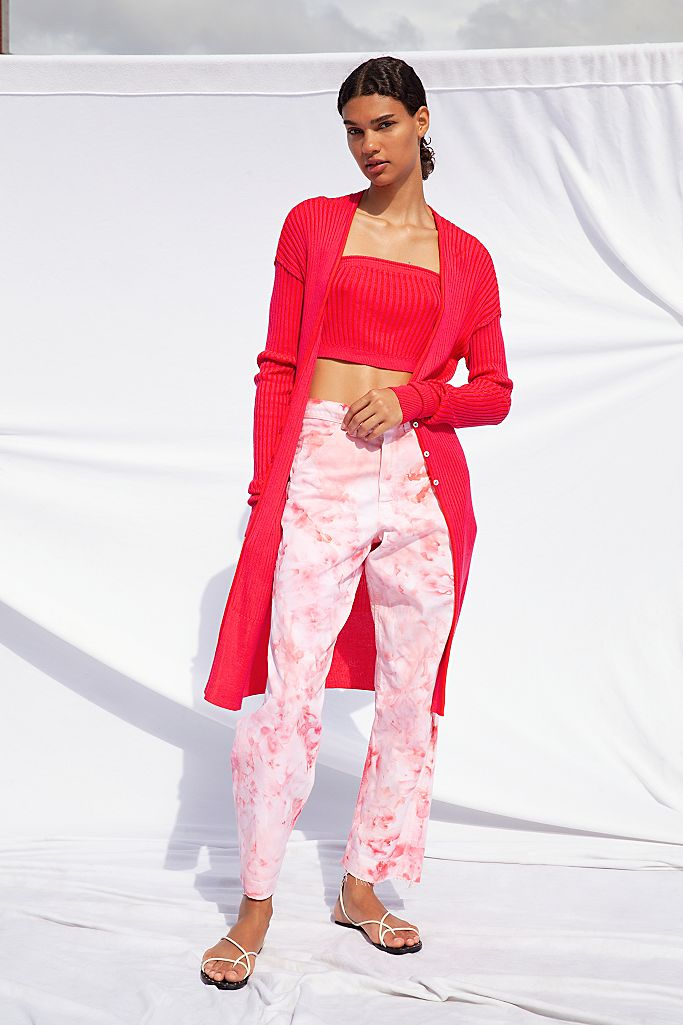 Painter's Pants in Rose