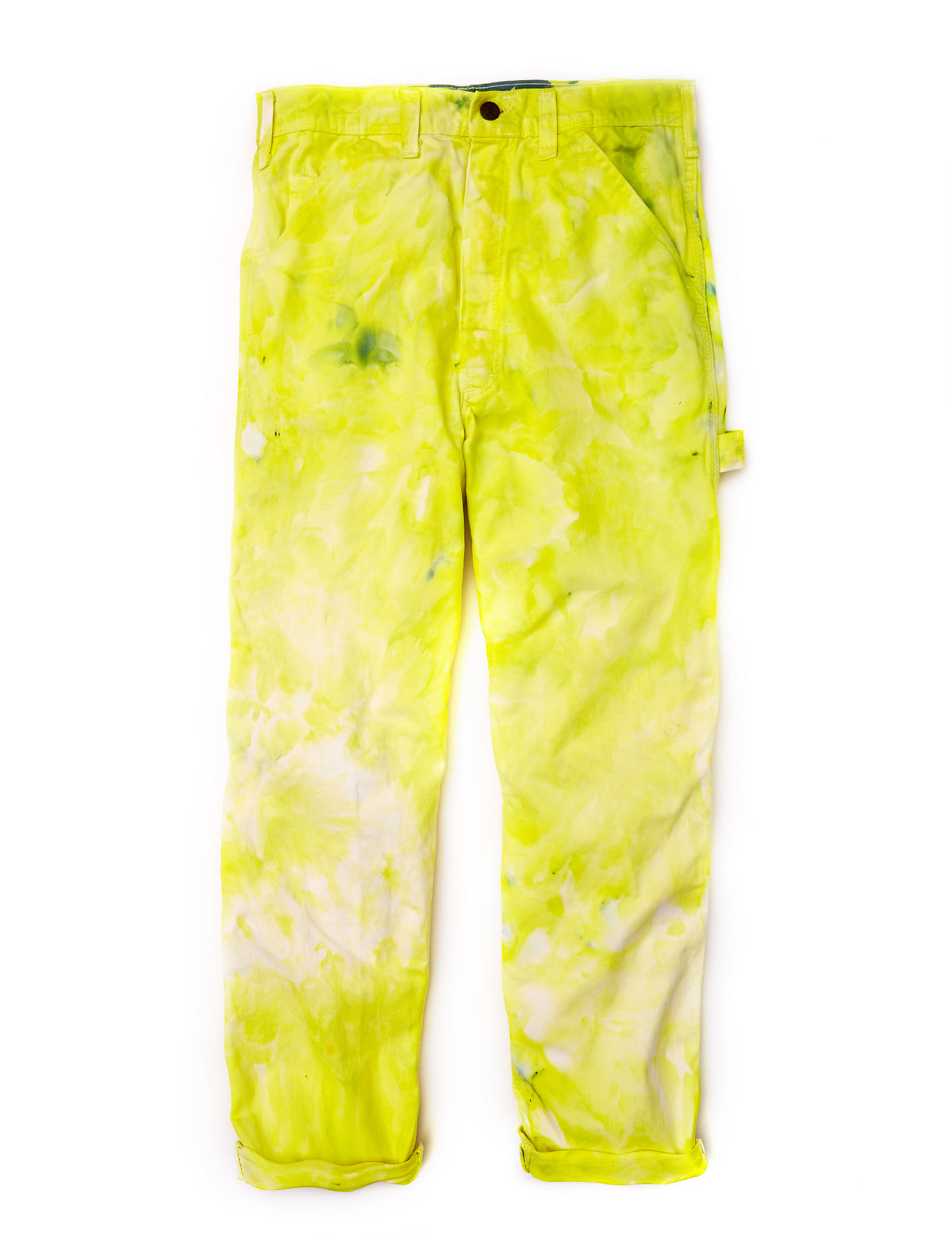 Painter's Pants in Wasabi