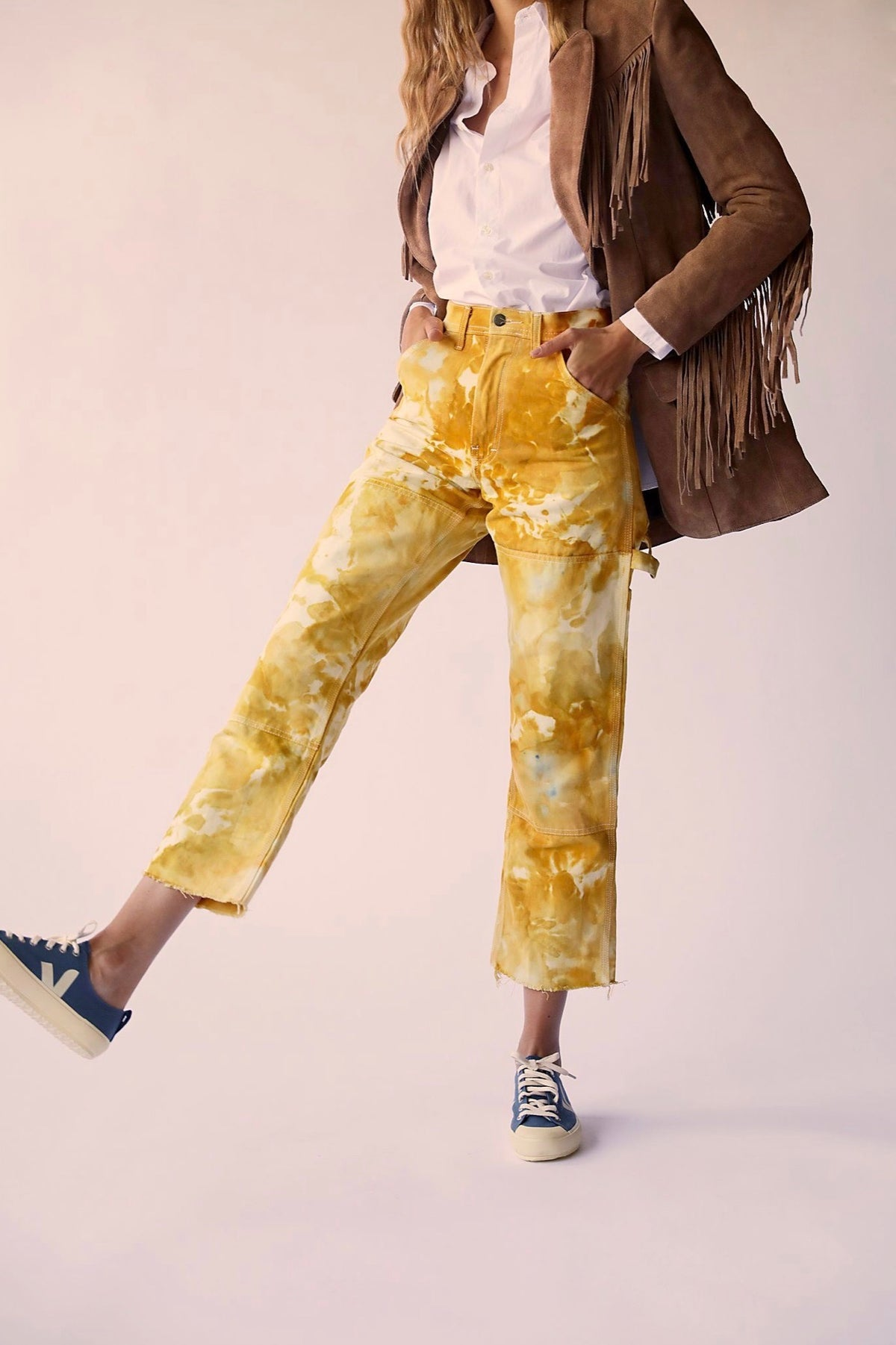 Painter's Pants in Mustard